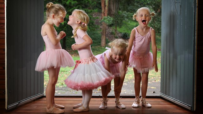 Baby Ballerina's, Big Steps Little Feet, preschool ballet