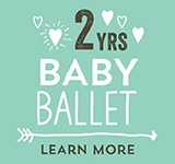 Big Steps Little Feet Baby Ballet